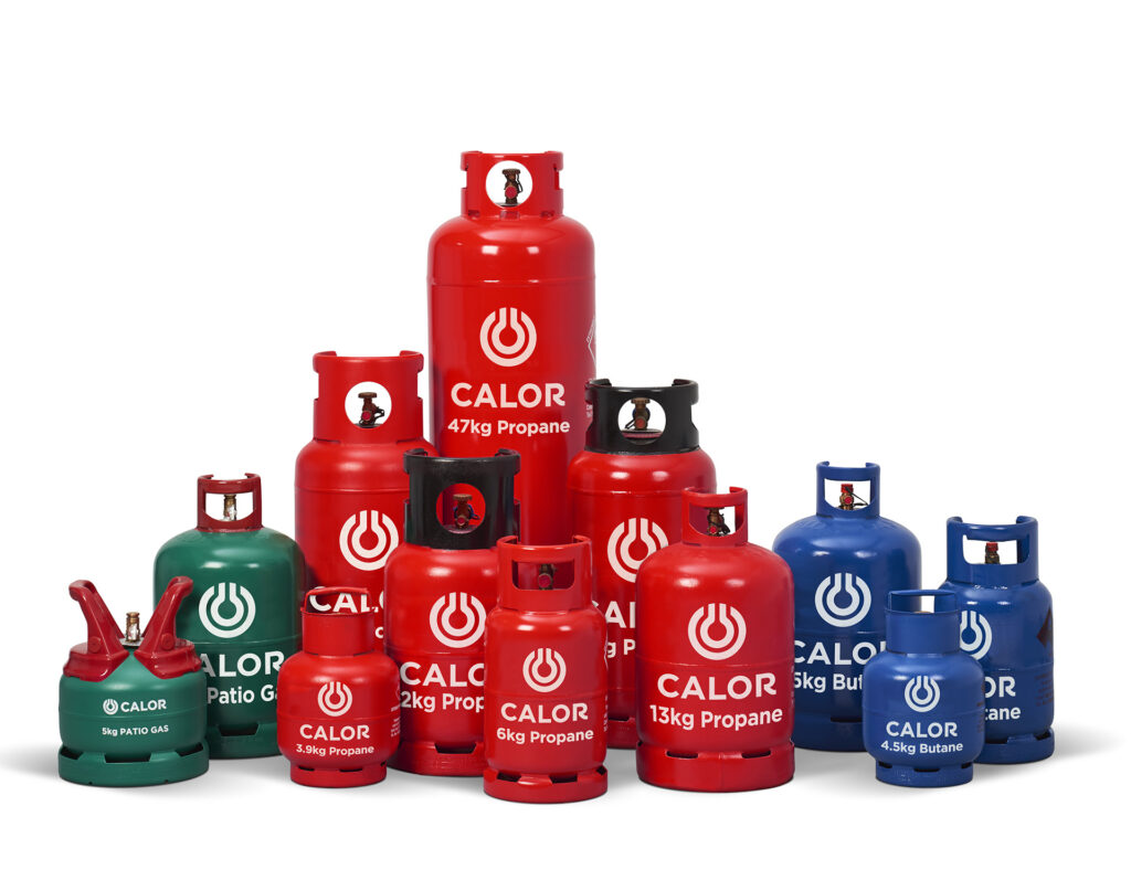 CALOR GAS BOTTLES